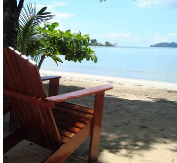 Big Creak Beach, right in front of villa in Bocas del Toro