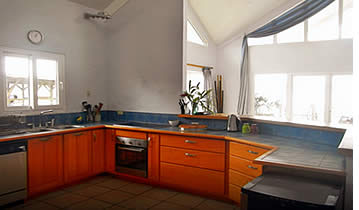Kitchen at Bocas Bay Villa
