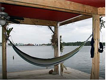 You can spend the afternoon lazing in a hammock at Casa Saigon